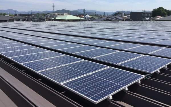民間への投資で太陽光発電事業の拡大を促す