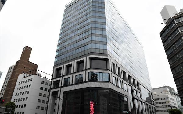 兜町に新たなオフィスビルが完成した(東京都中央区)