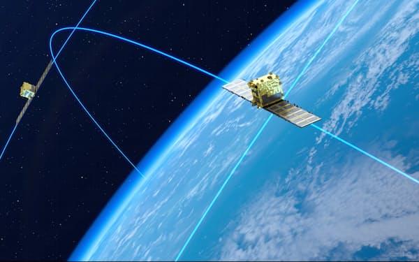 シンスペクティブは観測体制充実へ衛星30基の打ち上げを計画する(イメージ図)