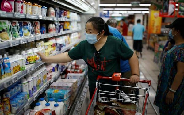 家電、日用品、食品の苦情が多い(北京市)=ロイター