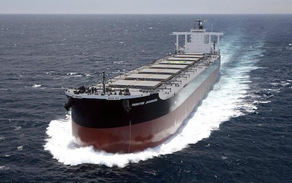 ケープサイズの用船料は2週間で約3割上昇
