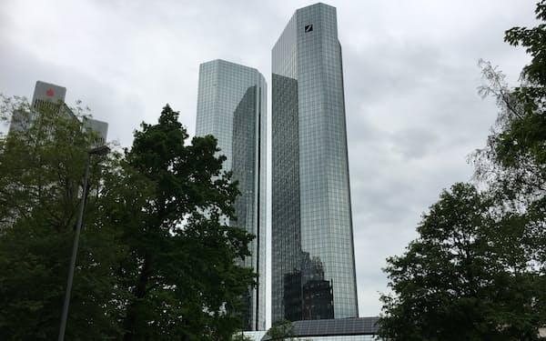 人的資本に特化した報告書を出したドイツ銀行(フランクフルト本部)