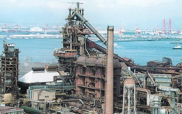 日本製鉄の名古屋製鉄所(愛知県東海市)