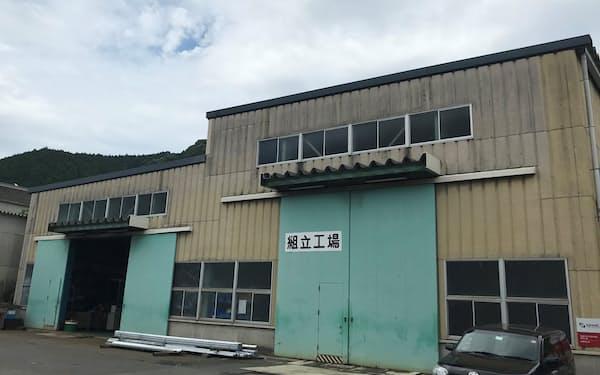 半導体業界向け水処理装置を製造する工場(山口県周南市)