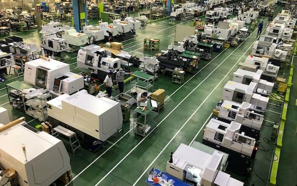 工作機械はけん引役だった中国向けの勢いが一服している