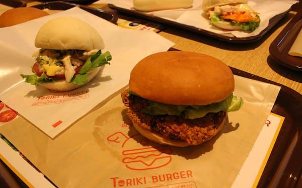 新業態の「トリキバーガー」は8種類のバーガーを提供する