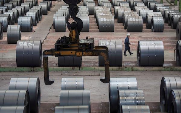 中国では政府主導の下で鉄の減産が進んでいる