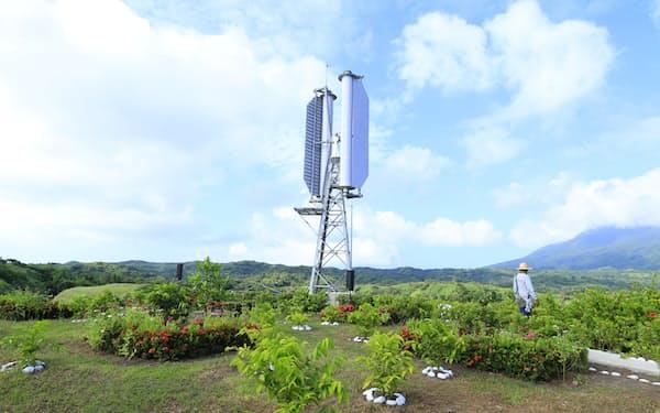 チャレナジーは台風でも発電できる風力発電機をフィリピンで稼働させた