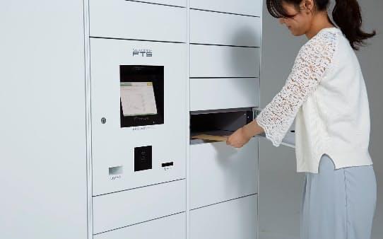 オークションサイト「ヤフオク」とフリマアプリ「PayPay(ペイペイ)フリマ」の商品をマンションの宅配ロッカーから発送するサービスを2022年1月から始める