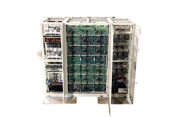 急速充電と複数台数の充電を柔軟に切り替えられる