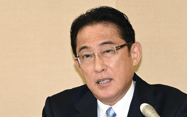 岸田氏は2020年9月の総裁選に初めて出馬し石破元幹事長を上回って2位になった