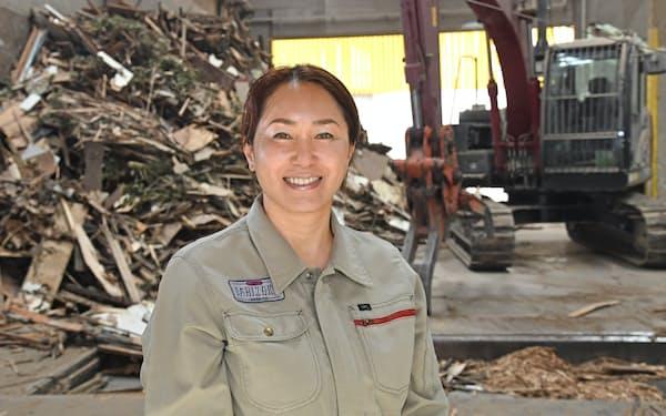 石坂さんは父親が興した産業廃棄物処理の会社をリサイクルの先進企業に変身させた
