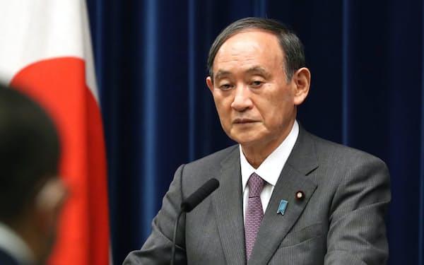菅首相は緊急事態宣言の対象地域を拡大したが…