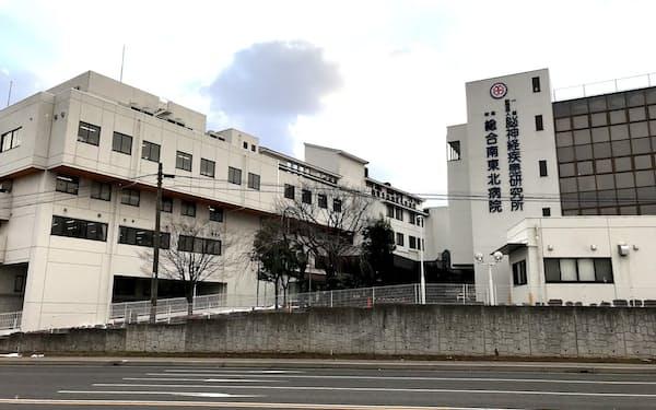 移転予定の総合南東北病院(福島県郡山市)