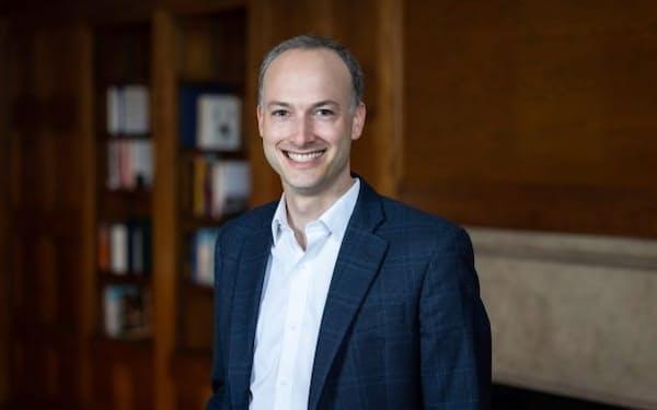 エール大学基金運用の最高投資責任者(CIO)に指名されたマシュー・メンデルソーン氏(エール大学提供・Dan Renzetti撮影)