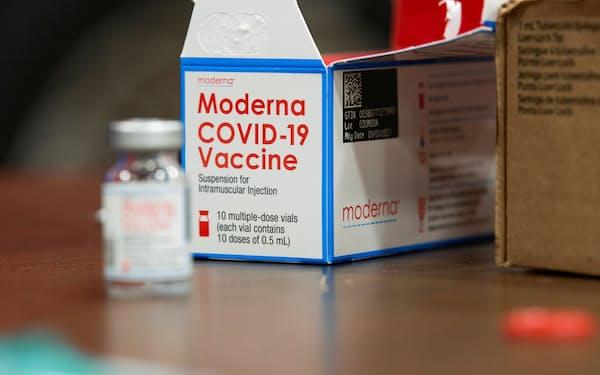 米モデルナ製ワクチンは米国や日本で使用されている=ロイター