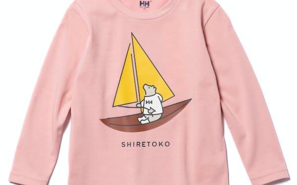ヘリーハンセンと知床トコさんのコラボTシャツ