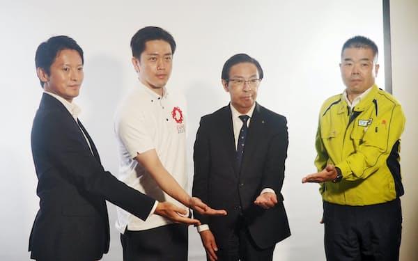 合同で緊急メッセージを出した関西4府県の知事