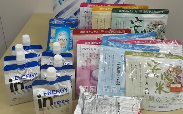 3食ずつ3日分の食料品と日用品を療養先に届ける