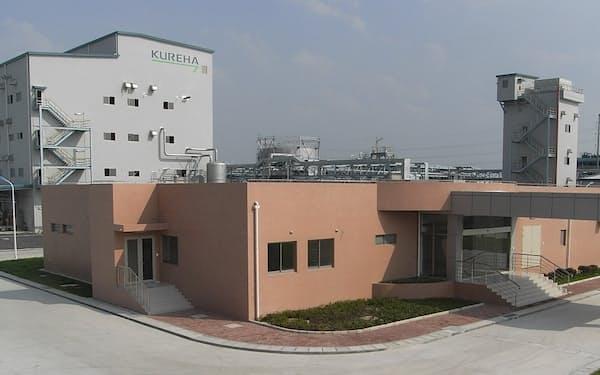 フッ化ビニリデン樹脂を生産する中国の常熟工場(江蘇省)