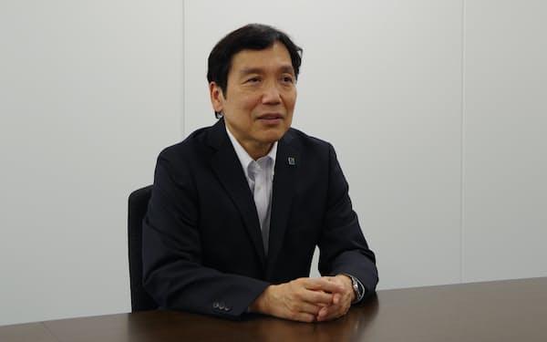 当面は東北銀行との関係構築に尽くすと語るフィデアHDの田尾社長
