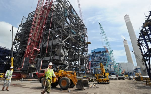 パイトン石炭火力発電所は海外インフラ事業のモデルになった(2010年撮影)