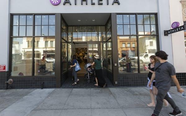 ギャップ傘下のアスリータは顧客との関係強化へ独自のウェブサイトを立ち上げた=AP