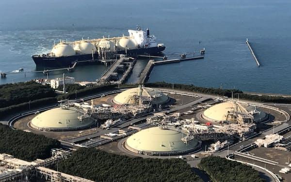 発電用LNGの逼迫を回避する(千葉県のLNG受け入れ基地)