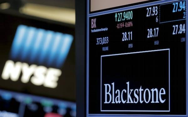 長期投資運用資産の拡大を目指す米投資ファンド最大手ブラックストーン=ロイター