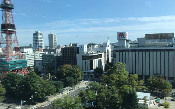 北海道内の信金にとって不動産融資の主戦場は札幌市内だ