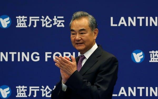 中国の王毅(ワン・イー)国務委員兼外相=ロイター