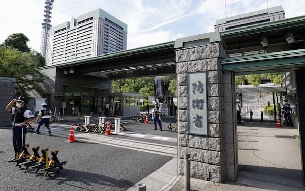 日本を取り巻く安全保障環境は厳しさを増している(東京新宿区の防衛省)
