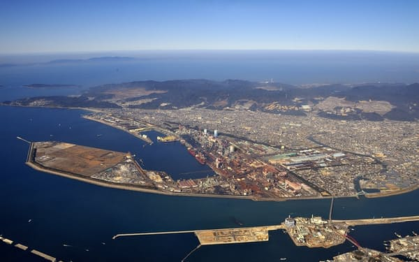 まず関西製鉄所和歌山地区からドローンの活用を拡大する(和歌山市)