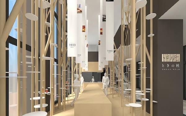 壺屋総本店の新店舗「壺屋ときの杜買物公園店」(イメージ図)