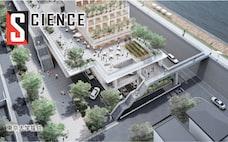 水害対策に「水上都市」 浮かぶ家・1階は柱だけの構造