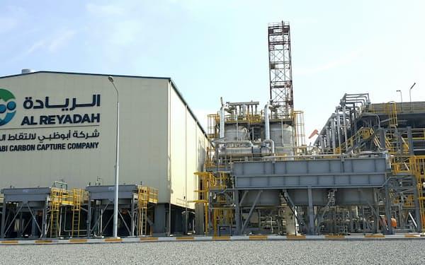 アブダビ国営石油会社のCO2回収装置