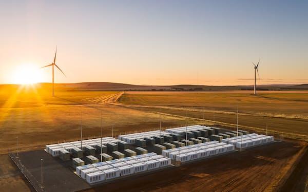 ENEOSは豪州などから安い水素を調達する構想を掲げる(協業を検討するネオエン社の再生エネ拠点)