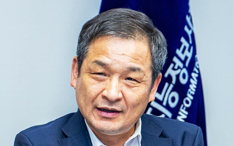 韓国知能情報社会振興院の文龍植(ムン・ヨンシク)院長
