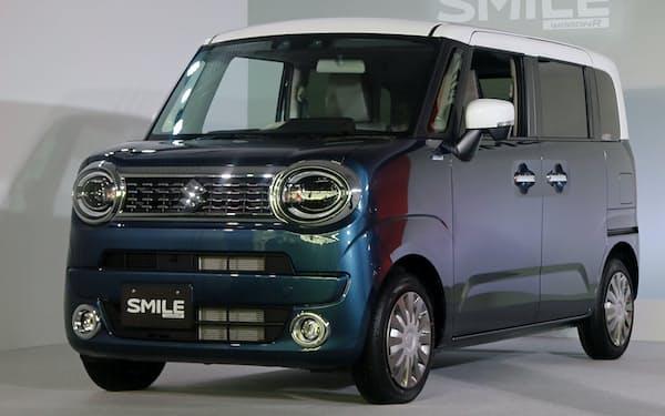 スズキの新型軽自動車「ワゴンRスマイル」