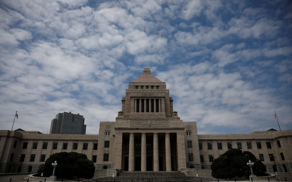Japan's National Diet Building is pictured in Tokyo, Japan, May 31, 2021. Picture taken May 31, 2021.   REUTERS/Kim Kyung-Hoon