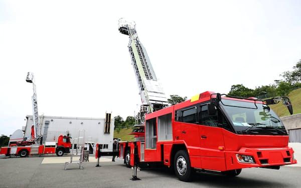 モリタHDははしご付きの消防車に強みを持つ