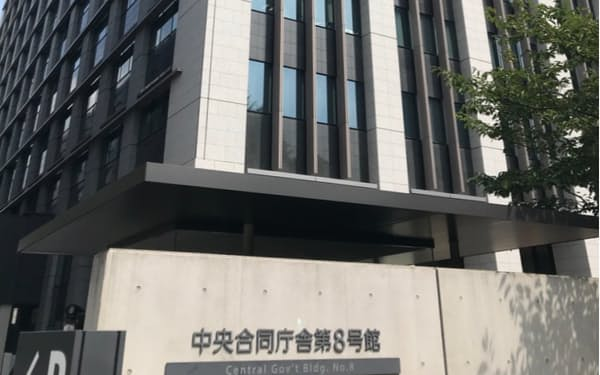 内閣府が入る庁舎(東京・永田町)