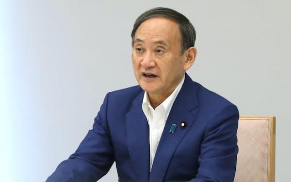 菅首相(31日午前、首相官邸)