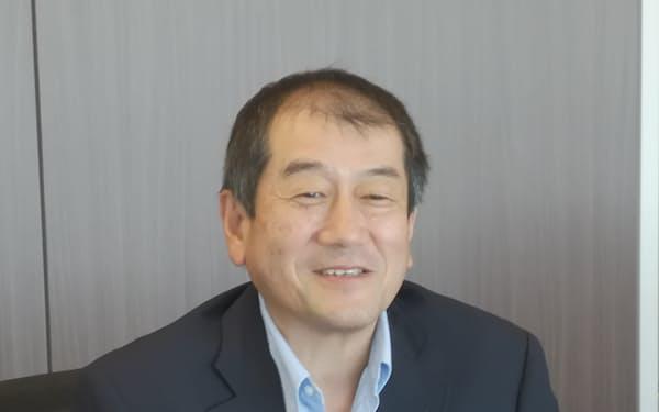 プライムポリマー社長・藤本健介氏
