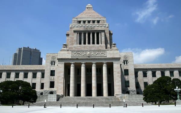 国会議事堂外観(6月13日)