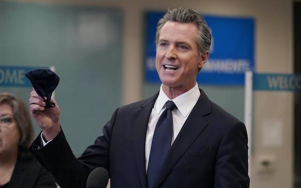 カリフォルニア州の公立校でのワクチン接種の取り組みはニューサム知事のリコール投票でも争点の一つとなっている=AP