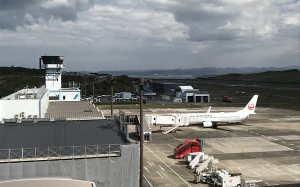 南紀白浜空港(和歌山県白浜町)
