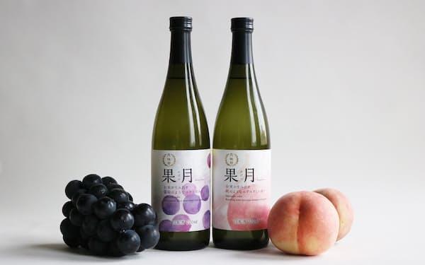 月桂冠は桃やブドウの香りのする日本酒「果月」を発売する