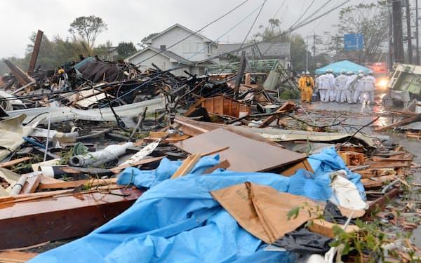 千葉県市原市は2019年10月の台風19号で住宅などに大きな被害があった