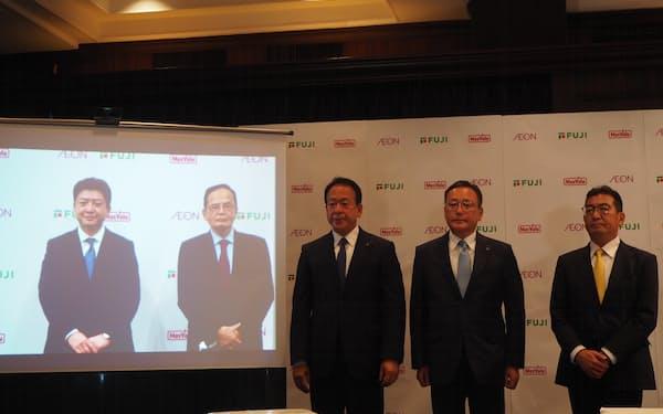 フジはマックスバリュ西日本と経営統合を進める